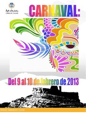 Carnaval 2013: programa de actos.