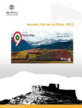 Día de La Rioja 2013: Arnedo, programa de actos.