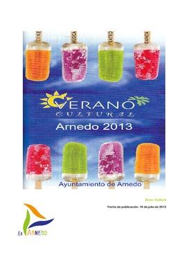 Actividades: Verano cultural 2013.