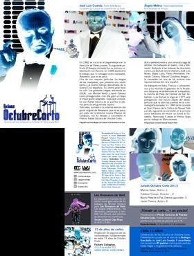 Quince Octubre Corto 2013: programa.