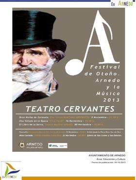 Festival de Otoño. Arnedo y la Música 2013.