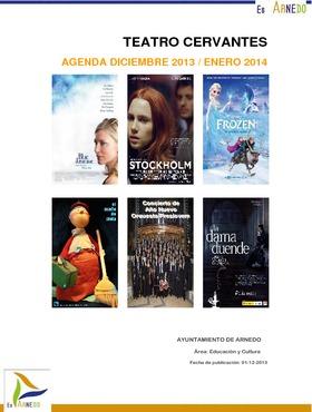 Programa Teatro Cervantes. Diciembre 2013 / Enero 2014