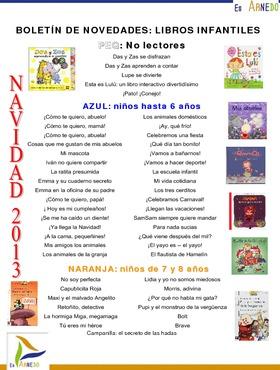 Novedades Biblioteca. Libros infantiles diciembre 2013.