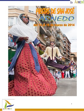 Programa Fiestas de San José 2014