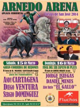 Cartel Feria de San José 2014