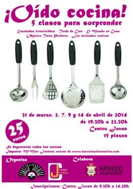 Cursos Consejo de la Juventud Comarcal de Arnedo Primavera 2014