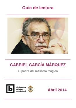 Guía de lectura Gabriel García Márquez