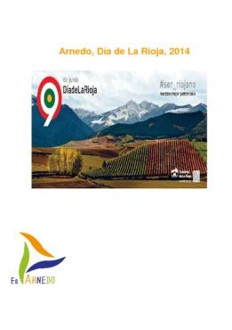 Día de La Rioja 2014: programa de actos del 2 al 9 de junio.
