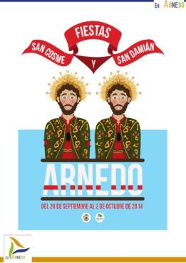 Programa Fiestas Patronales San Cosme y San Damián 2014