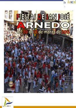 Programa fiestas de San José 2015