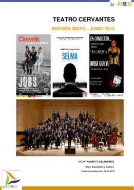 Programa Teatro Cervantes Mayo-Junio 2015