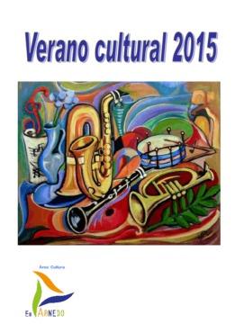 Programa Verano cultural 2015