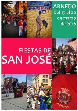 Programa Fiestas de San José 2016