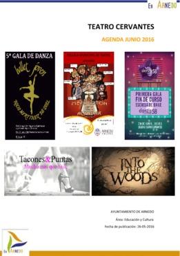 Programa Teatro Cervantes Junio 2016