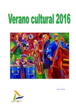 Verano cultural 2016: cine al aire libre y conciertos.