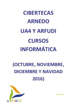 Las Cibertecas municipales presentan los nuevos cursos para el otoño 2016.