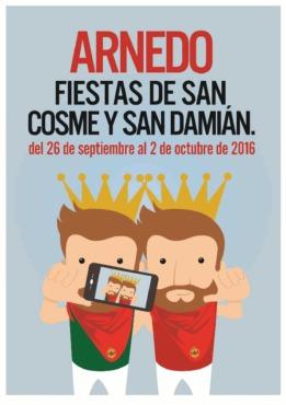 Programa de las Fiestas de San Cosme y San Damián 2016