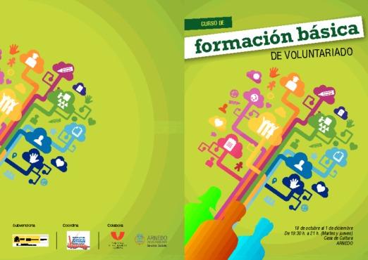 Curso de formación básica del Voluntariado del 18 de Octubre al 1 de Diciembre