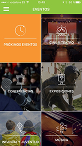 seccion eventos